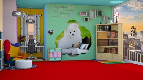 Cool_Bedroom_ - Bedroom  - by Jahsoftball_