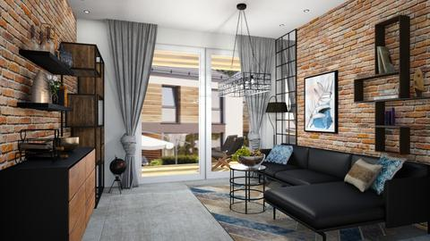 metal living - Living room  - by ewcia3666
