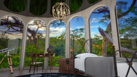 Canopy Bedroom - Bedroom  - by echatter