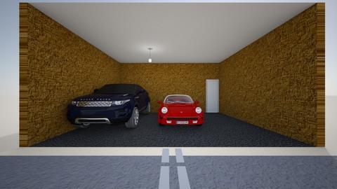 Car garage 1st - by Hamzah luvs cats