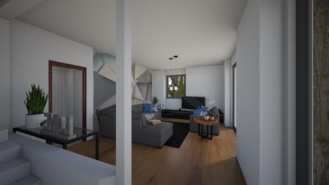 senza muretto 2 - Living room  - by laura suino