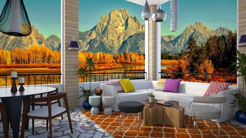 Orange Mountain View - Modern - Garden  - by 3rdfloor