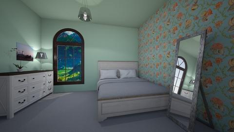 Mirror - Country - Bedroom  - by Twerka