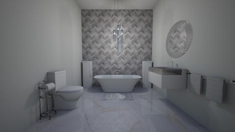 Grey Bathroom - Bathroom  - by xeniaaa