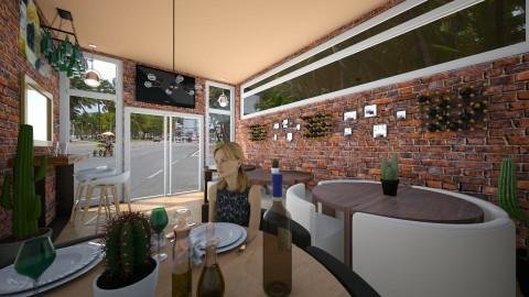 Cozy Restaurant - by FranChi