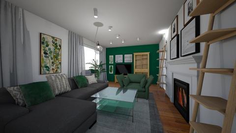 salon zielony 2d - by edyta_367