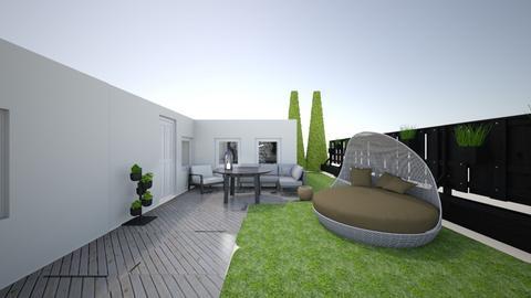 XX District project - Bedroom  - by gloriabuka