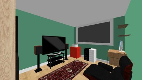 Room middle - Living room  - by bromie