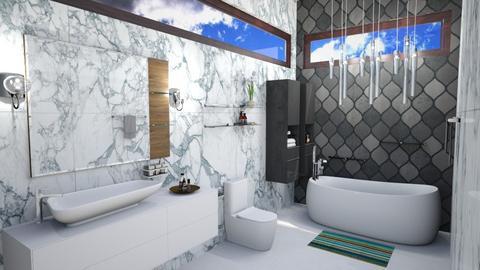 N Bath - by shweta_openremodel