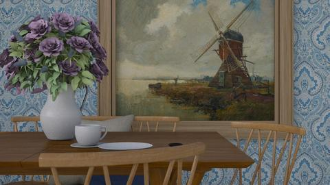 Dutch Countryside - Country - Dining room  - by HenkRetro1960