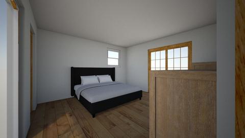 master bedroom - by bradfielder