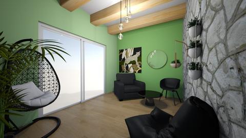 Tropical room - Living room  - by Meghan White