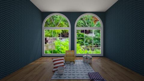 Indoor Picnic - Living room  - by theIrishdog