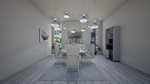 Lamps and Round table - Modern - Dining room  - by Agamanta
