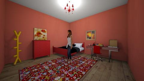 Indian Room - Bedroom  - by llama_555