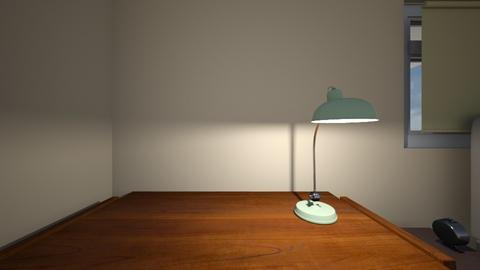 Mid Century Desk - Bedroom  - by mspence03