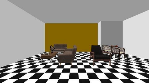 Retro - Retro - Living room  - by sapirshitrit