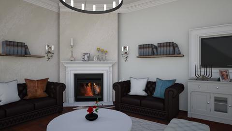 Primar Bolotesti - Living room  - by nicatamara