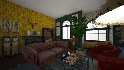 art deco  - Living room  - by Tanya Fish