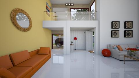 Living Space - Minimal - Living room  - by kristenaK