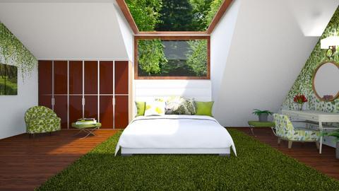 Green Eaves - Bedroom  - by yonvie