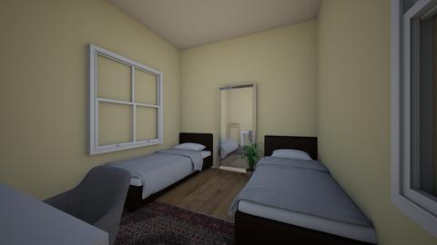 bedroom - Modern - Bedroom  - by bleuelb