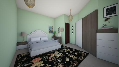 basement bedroom - Bedroom  - by chloebear