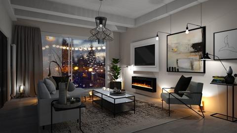LONDON ON IT FINEST - Living room  - by zarky