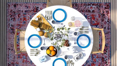 Breakfast - Modern - Dining room  - by HenkRetro1960