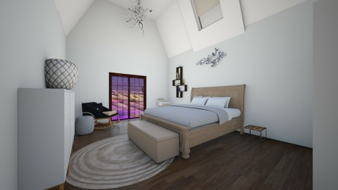 Beige loft - Minimal - Bedroom  - by deleted_1524503933_Architectural