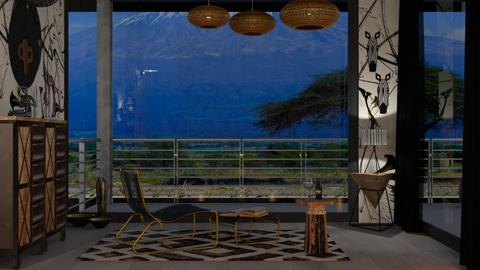 M_ Afrika touch - Modern - Living room  - by milyca8