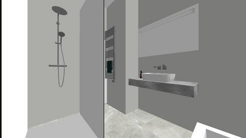 Lazienka - Rustic - Bathroom  - by PiterM