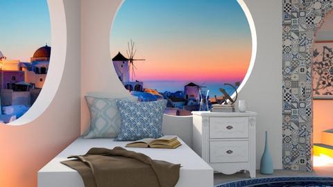 Greek_Modern_Bedroom - Minimal - by Queen_Of_Wolves