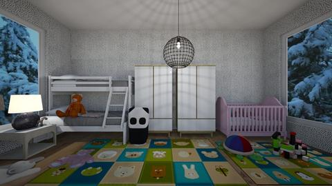 play time - Kids room  - by hicran yeniay
