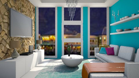 bliss is blue  - Modern - Living room - by Nhezi