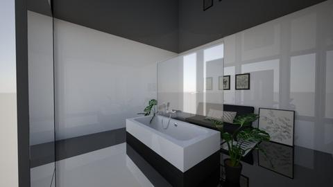 Bath and lounge room - Minimal - Bathroom  - by Callmekai22