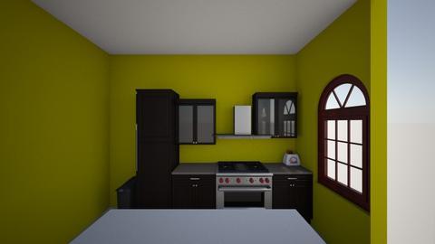mini kitchen - Kitchen  - by catofcreatoring