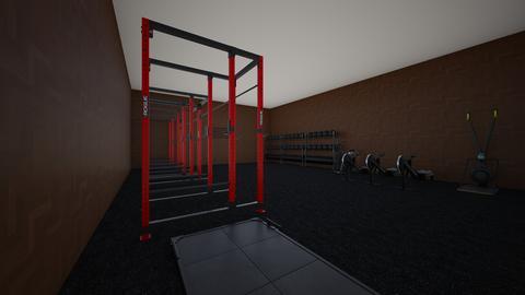 industrial gym - by rogue_328c50a458b00eb18fff0438cc5ac