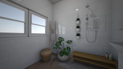 bathroom studio 4 - Minimal - by BlokhEphroni