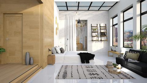 bedr - Modern - Bedroom  - by eymuuuch