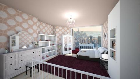 modern vintage - Retro - Bedroom  - by ljiljanan