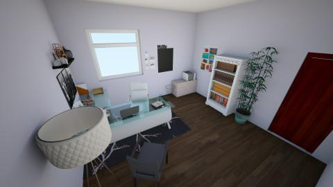 Home Office - Feminine - Office - by interiordesignmajor013
