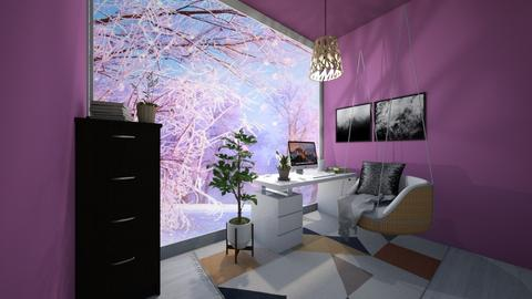 Winter Break Small Office - Office - by beautiful luxury winter decoration