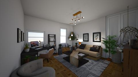 futon bedroom - Bedroom  - by PeculiarLeah
