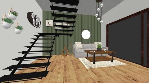 Impressive staircase - by Sadieeeeeeee