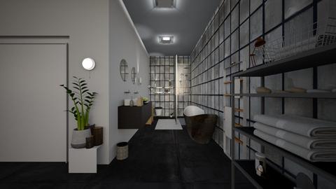 Cool - Minimal - Bathroom  - by julieg77