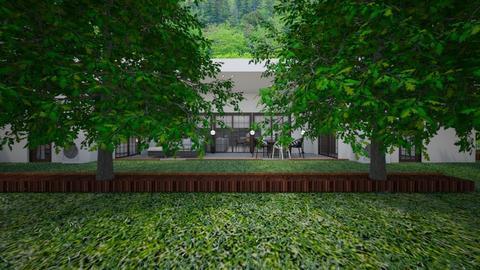 House1 - Garden  - by lovasemoke
