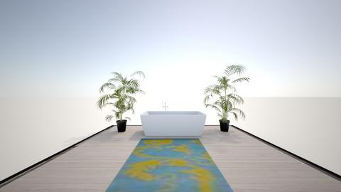 island vibes bathroom - Bathroom  - by JKGaidu