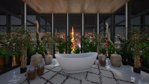Plants - Eclectic - Bathroom  - by Drama Llama