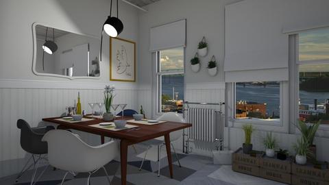 56A Waterloo Dining - Dining room  - by rachelmarieknepp